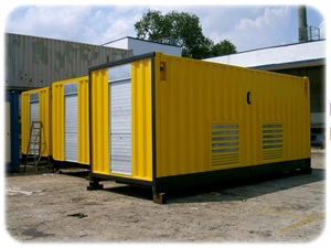 Equipment & Underground Cabling Container