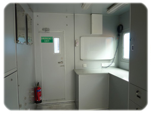 Offshore Container – Control Room