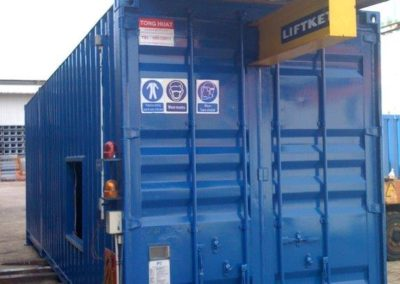Customized – Sandblast Container