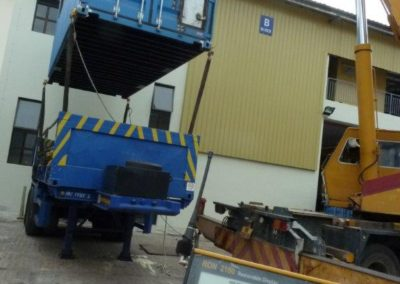 Offshore Container – Pre Test