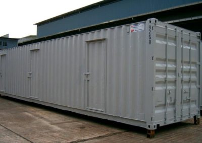 Storage Container – 3 room – 40ft