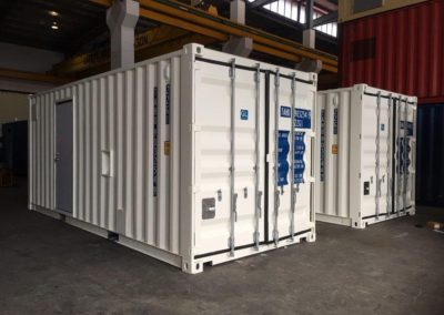 Storage Container Equipment Enclosure
